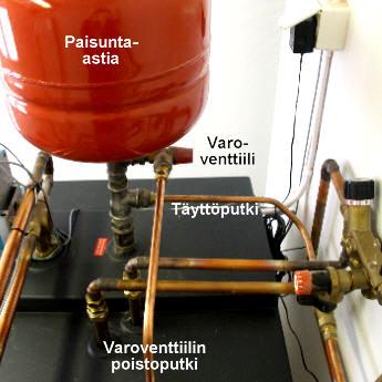 Paisuntaastia käyttövesi
